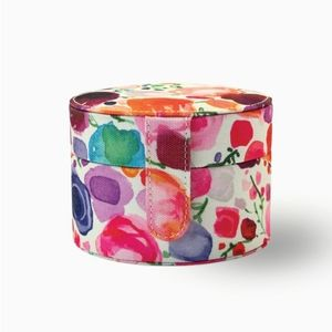 KATE SPADE Floral Travel Jewelry Box